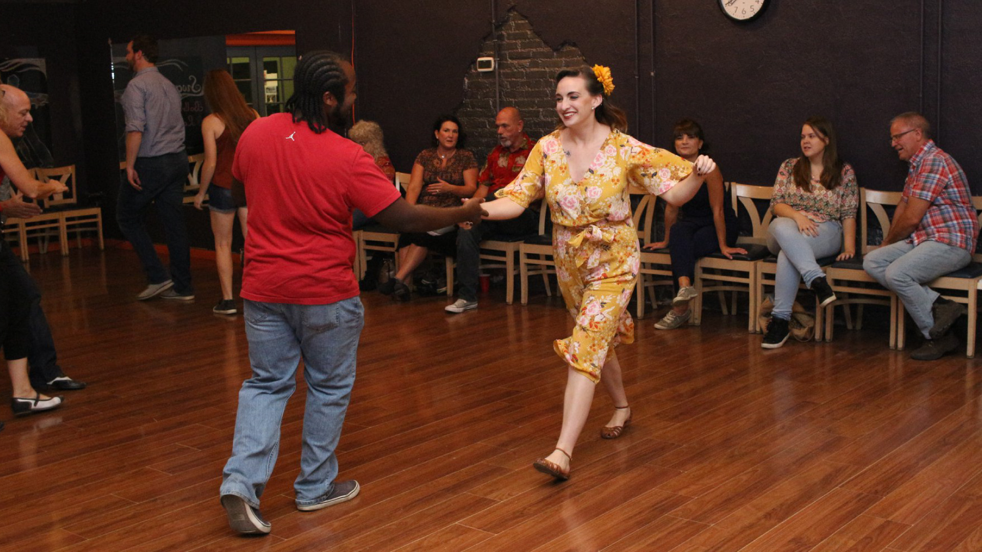 Swing Dance at Jazzy Jive Joint